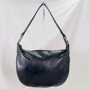 Gucci Black Leather Hobo